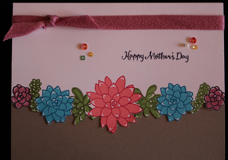 Edge Stamping for Mom