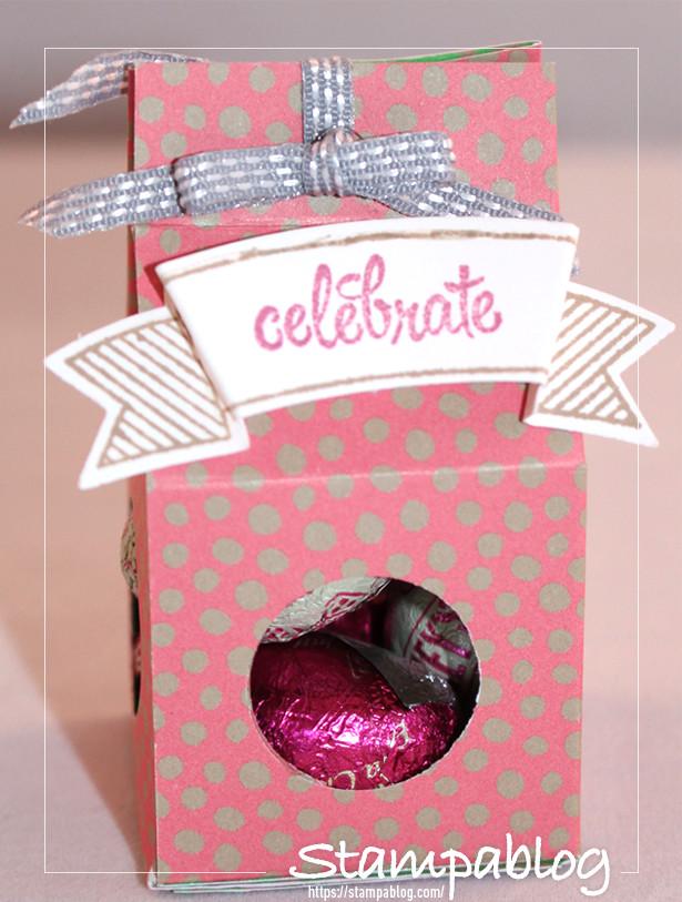 Simple 3d gift - Baby Milk Carton